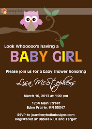 owl baby shower invitation themed baby showers babies and
