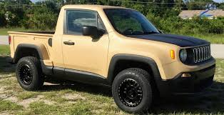 new jeep comanche jeep renegade gets a comanche ute makeover in the us photos 1 of 8