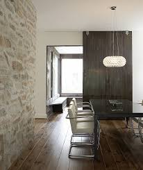 Stone Wall Tiles For Living Room Stone Wall In Dining Room Kitchen Tile Transition Hardwood Dark