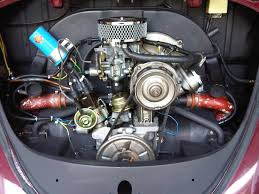 volkswagen engines clean 1600cc engine in a standard bug the progressive dual weber