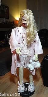 amc walking dead teddy bear animatronic halloween prop