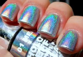 how to apply holographic polish the polished mommy