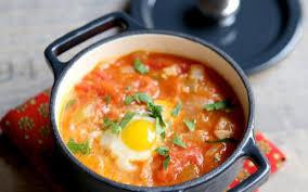 cuisine oeuf recette oeuf cocote tomaté économique et simple cuisine étudiant