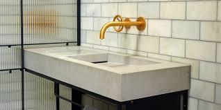How To Make A Concrete Sink For Bathroom Concrete Basins U0026 Sinks