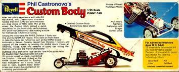 197x phil castronovas custom body funny car 1 25 missing parts