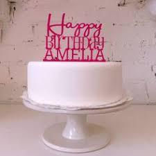 Birthday Cake Toppers Personalised Birthday Cake Topper My Birthday Pinterest
