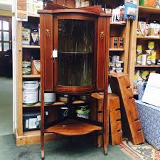 mahogany corner bookcase the dog house antiques furniture