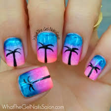 gel nail designs pinterest summer 12 summer nail art designs