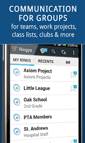 communication for groups android apps on play