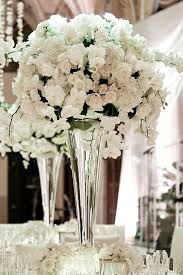 Wedding Floral Arrangements Chic White Flower Centerpieces For Wedding 1000 Ideas About White