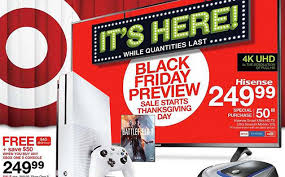 black friday 43 element tv at target black friday ad posted