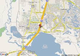map of deltona florida map of best western deltona inn deltona