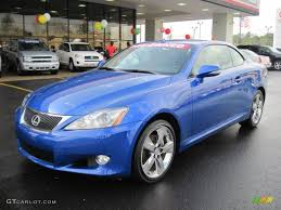 lexus convertible 2010 2010 ultrasonic blue mica lexus is 250c convertible 42327034