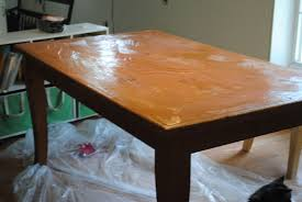 Dining Room Table Refinishing Runs With Scraps Refinish An Old Knotty Pine Dining Table The