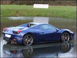 Ferrari 458 Blue - current inventory tom hartley