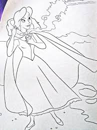 the little mermaid walt disney coloring page of vanessa from