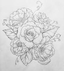 tattoo flower drawings pin de julie marie en tattoos pinterest tatuajes dibujo y ideas