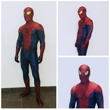 the amazing spider man digital print halloween cosplay
