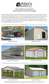 alans plans com exceptional mobile home garage kits 10 metal garages roof styles