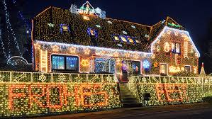 Neighborhoods With The Best Holiday Lights In Chicago Cbs Chicago