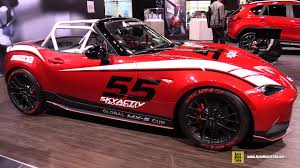 mazda global 2016 mazda global mx 5 race car exterior and interior walkaround