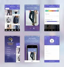 118 free mobile app ui templates xdesigns