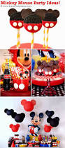 diy mickey mouse clubhouse birthday decorations decorating of party