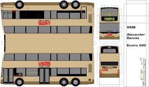 Double Decker Bus Floor Plan Paper Bus Connection U2013 紙巴士總匯 Hong Kong 香港