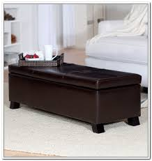 Padded Storage Bench Padded Storage Bench Seat Home Design Ideas