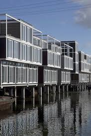 gallery of floating houses in ijburg architectenbureau marlies
