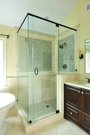 Seamless Glass Shower Door Frameless Glass Shower Doors Cost Fetchmobile Co