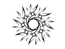 simple designs free designs tribal sun simple