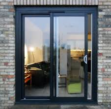 Patio Doors Manufacturers Powder Coated Aluminium Sliding Patio Doors 2 Panel Aluminium