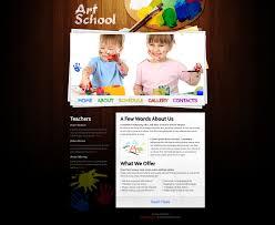 free website template art