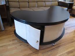 Boomerang Coffee Table Coffee Tables Narrow Coffee Table For Small Space Mid Century