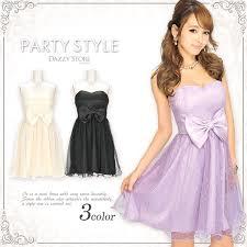 dazzy store louise bq rakuten global market wedding party dress with ribbon