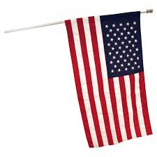 3ft x 5ft american banner flag sewn polyester us made