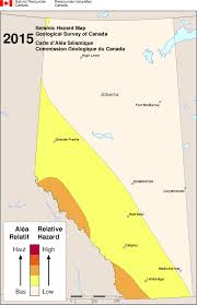 Fort Mcmurray Alberta Canada Map by Simplified Seismic Hazard Map For Canada The Provinces And