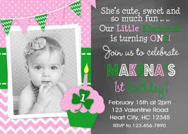 printable birthday invitations girls st patrick u0027s day party