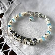 Baby Name Bracelet Baby Name Bracelets