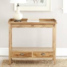 Safavieh Console Table Safavieh York Pickled Oak Finish Console Table Free Shipping