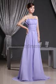 celebrity inspired lavender chiffon evening prom dress formal