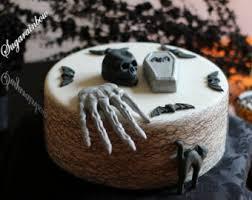 Halloween Cake Decorations Halloween Cake Etsy
