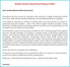 doctor appointment letter 10 samples u0026 formats in pdf