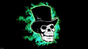 lime green halloween background skull hd wallpapers wallpapersafari