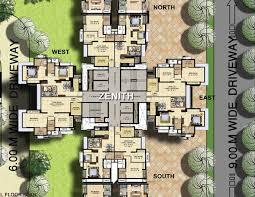 zenith floor plan marathon nexzone panvel mumbai floor plans
