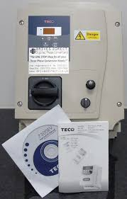 teco ev 3hp digital single to 3 phase inverter for colchester