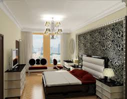 room design ideas for men with amazing silver wall decor and high