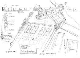 Historic Tudor House Plans Garden History Matters The Tudor Garden