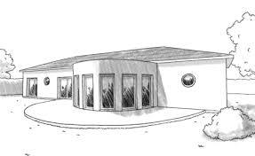 plan de maison en v plain pied 4 chambres plan maison en v avec 4 chambres ooreka